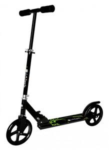 L.A. Sports Alu-Scooter Onyx City-Roller faltbar, Höhe verstellbar