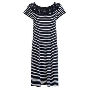 Damen Kleid im Ringel-Look