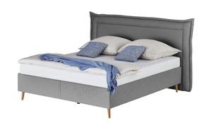 Möve Polsterbett  Fantasia - grau - 240 cm - 122 cm - Betten
