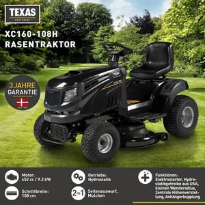 Texas Rasentraktor XC160-108H