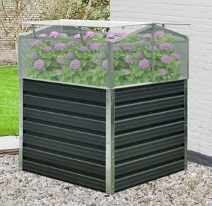 Powertec Garden Balkon-/Garten-Hochbeet - Anthrazit