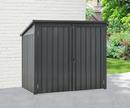 Bild 2 von Powertec Garden Mülltonnenbox mit Abdeckung