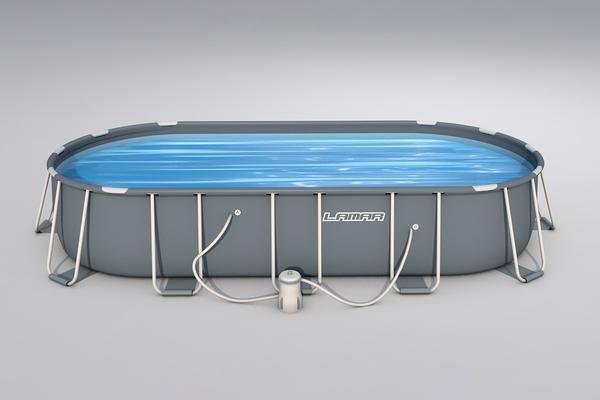Lamar Pool Komplett-Set - Ca. 549 x 274 x 122 cm