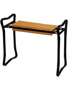 Knie- und Sitzbank »Calssico«, Stahl, schwarz