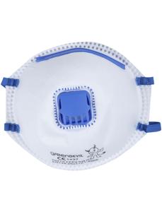Feinstaubmaske, FFP2, Weiß