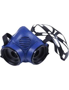 Atemschutz-Halbmaske, Blau, Kunststoff