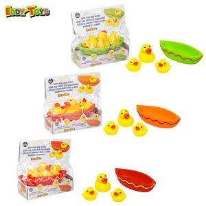 Eddy Toys Badespielzeug Boot mit 3 Enten
