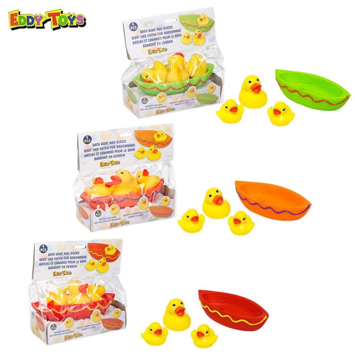 Bild 1 von Eddy Toys Badespielzeug Boot mit 3 Enten