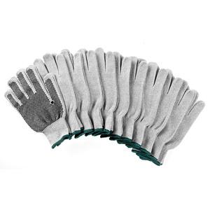 Kraft Werkzeuge Arbeits-Handschuhe, Hellgrau - 10er-Set