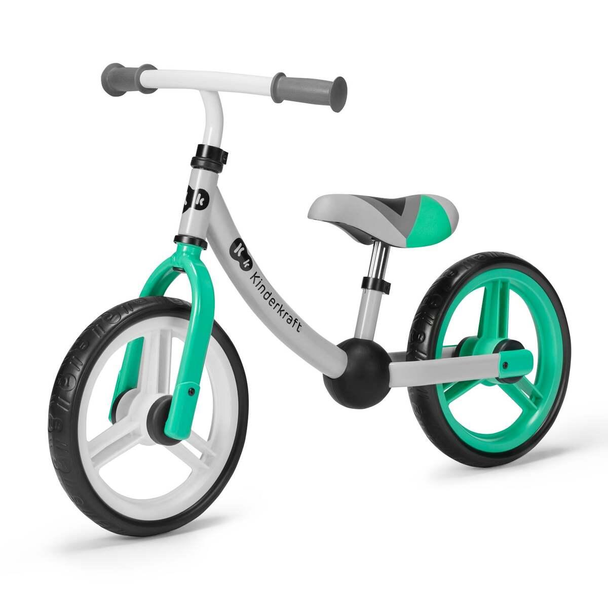 Bild 1 von Kinderkraft 2WAY NEXT-Laufrad green/grey