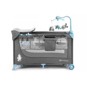 Kinderkraft JOY-Reisebett 2in1mit Zubehör blue