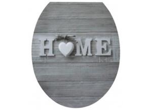 WC-Sitz Duroplast Motiv Home Absenkautomatik