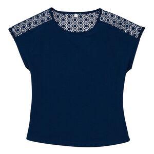 blue motion Shirt mit Spitze