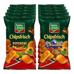 Funny Frisch Chipsfrisch 175 g, verschiedene Sorten, 10er Pack