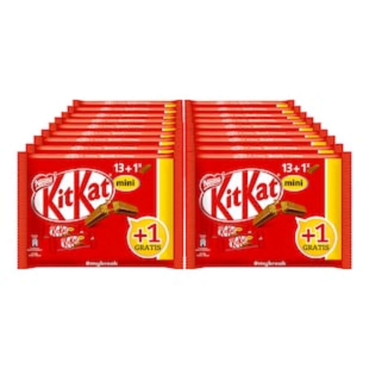 Bild 2 von Kit Kat Minis +1 233g, 18er Pack
