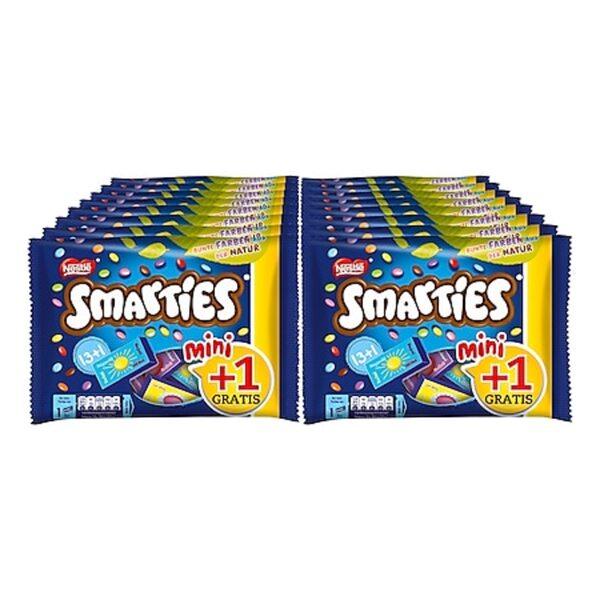 Smarties Mini + 1, 201g, 16er Pack