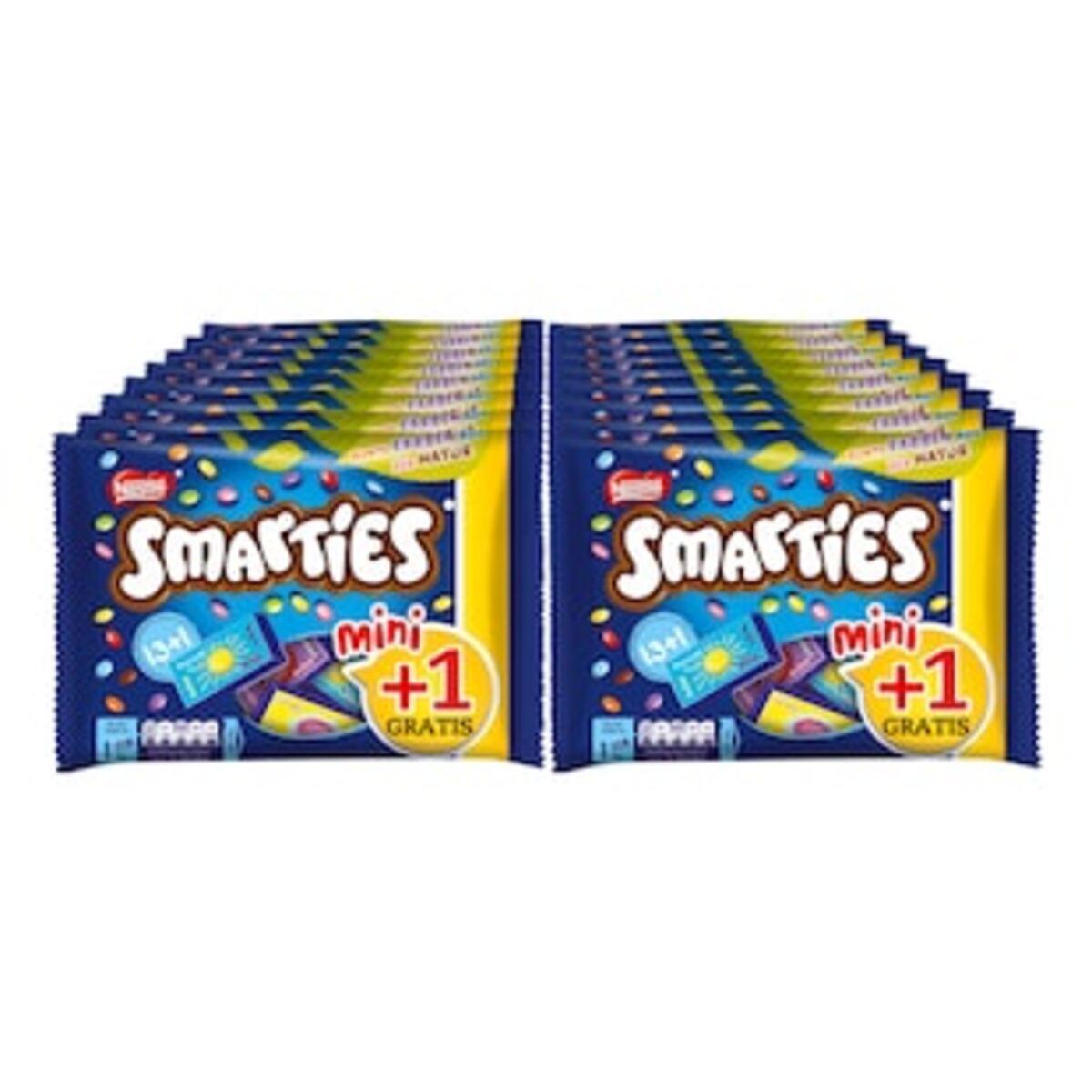 Bild 2 von Smarties Mini + 1, 201g, 16er Pack