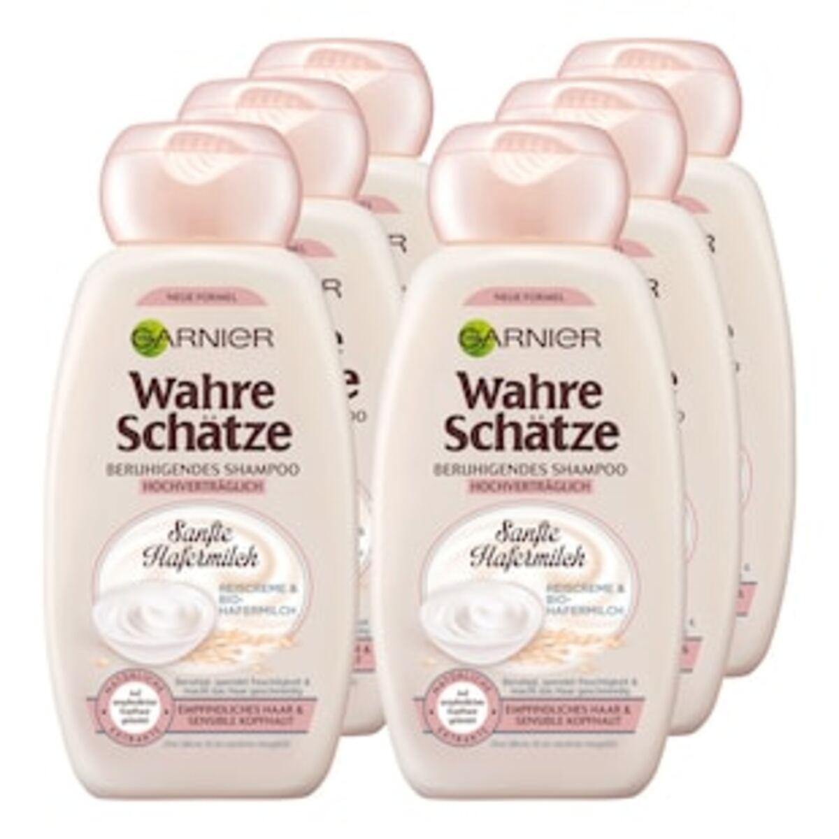 Bild 2 von Garnier Wahre Schätze Shampoo Hafermilch 250 ml, 6er Pack