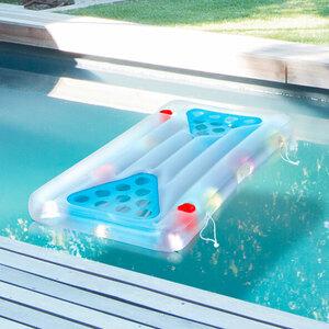 Bier-Pong-Luftmatratze Aqua Glow®