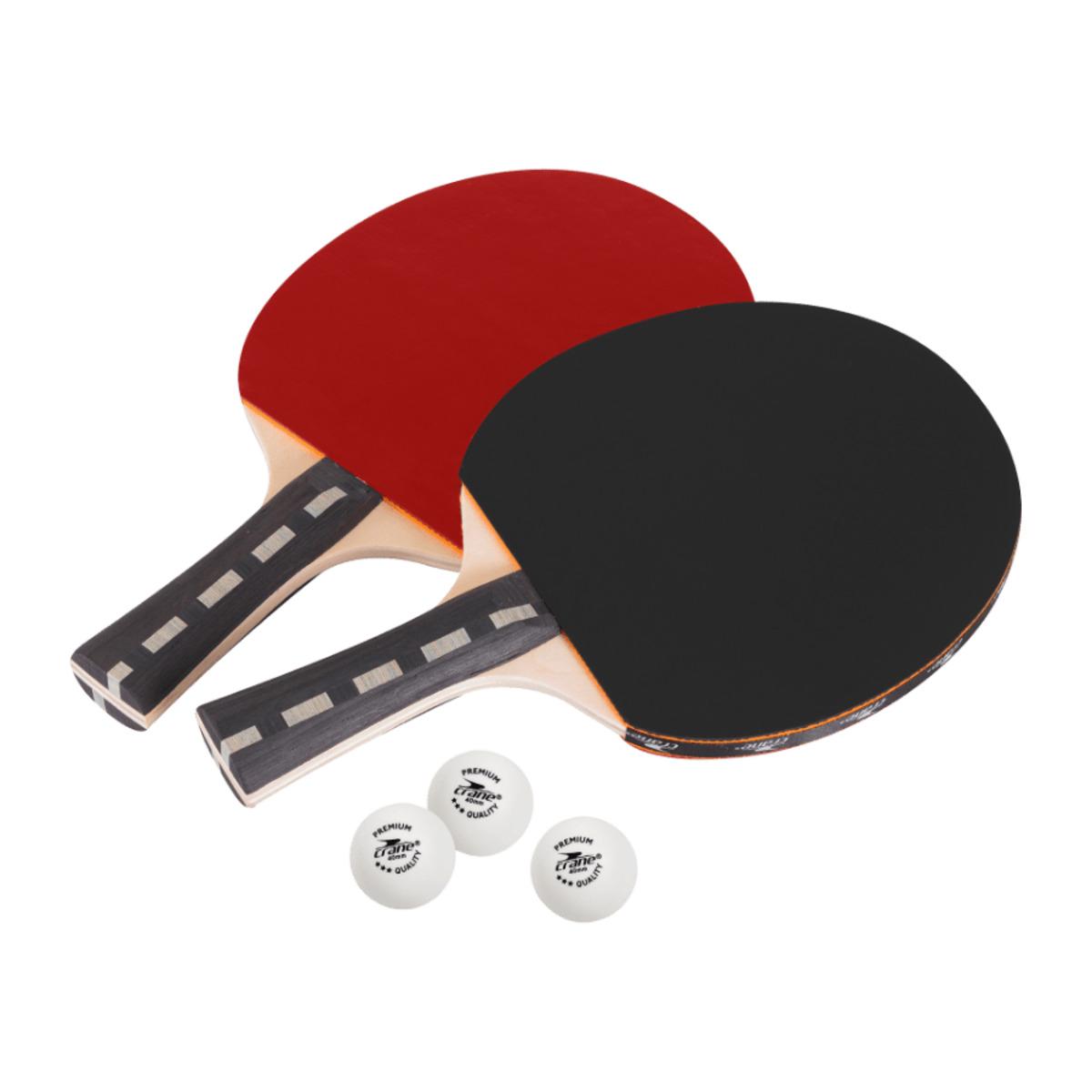 Bild 1 von CRANE     Tischtennis-Schläger-Set