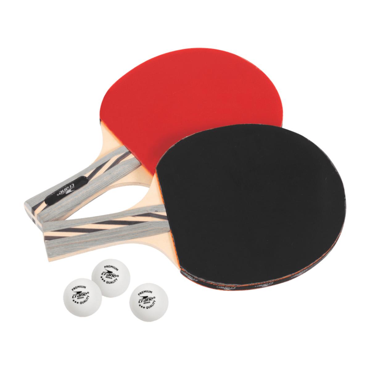 Bild 2 von CRANE     Tischtennis-Schläger-Set