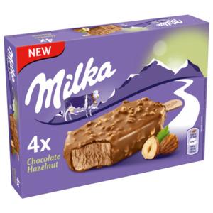 Milka Eis Chocolate Hazelnut 4 Stück