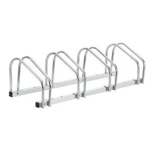 neu.haus Fahrradständer für 4 Fahrräder Mehrfachständer Stahl verzinkt 99x33x26cm