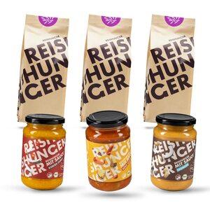 Reishunger Jasmin Reis Set mit Saucen 3x600g, 3x325ml