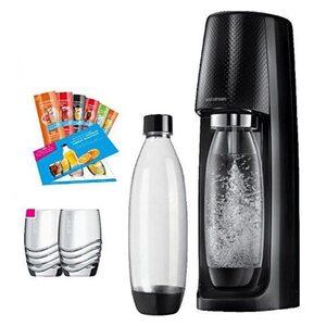 SodaStream Easy Promopack Wassersprudler, schwarz