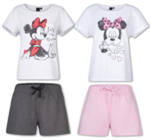 DISNEY MINNIE MOUSE Damen-Shorty-Pyjama