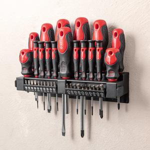 Kraft Werkzeuge Schraubendreher-/ Bit-Satz 37tlg.