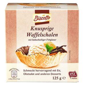 Biscotto Waffelschalen 125 g