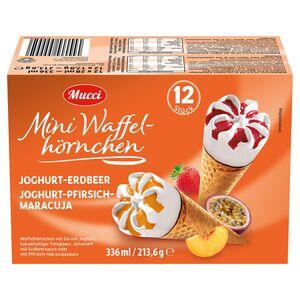 Mucci Mini-Waffelhörnchen 336 ml