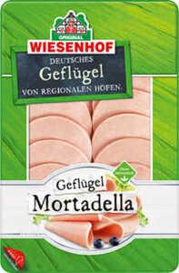 WIESENHOF Geflügel-Mortadella oder -Jagdwurst