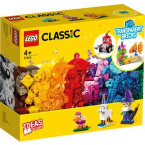 LEGO®Classic 11013 Kreativ-Bauset mit durchsichtigen Steinen