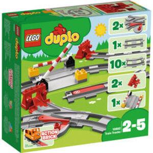 LEGO® DUPLO® Eisenbahn Schienen 10882