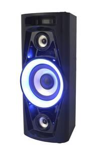 Discosoundmaschine mit Bluetooth, Radio und Akku
