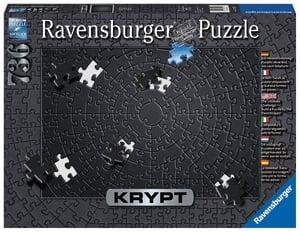 Ravensburger Puzzle Krypt Black 736T