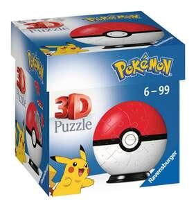 Ravensburger Puzzle 3D Pokemon Pokeball 54T