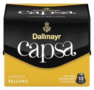 Dallmayr Capsa Lungo Belluno Intensität 5 Kaffeekapseln 10ST 56G