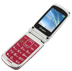 Olympia Style Plus Großtastentelefon, Farbe: Rot