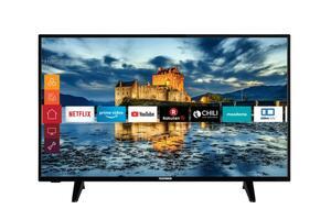 Telefunken XF43J511 43 Zoll Fernseher (Smart TV inkl. Prime Video / Netflix / YouTube, Full HD, Works with Alexa, Triple-Tuner)