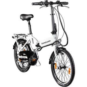 Zündapp Z101  E-Klapprad E-Bike 20 Zoll, StVZO, 6 Gänge, Farbe Weiß