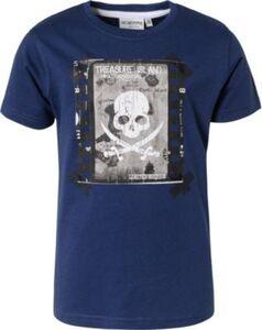T-Shirt ''glow in the dark'' , Pirat dunkelblau Gr. 92/98 Jungen Kleinkinder