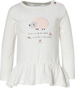 Baby Langarmshirt  weiß Gr. 74 Mädchen Baby