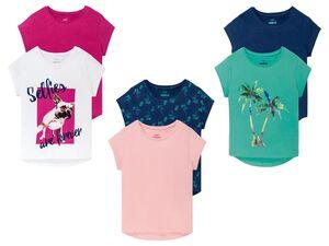 PEPPERTS® T-Shirts Mädchen, 2 Stück, reine Baumwolle