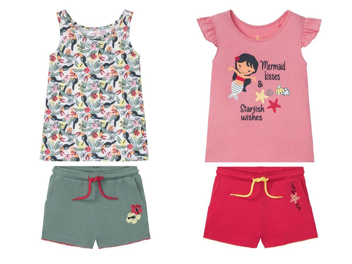 Bild 1 von LUPILU® Kleinkinder Set Mädchen, 2-teilig
