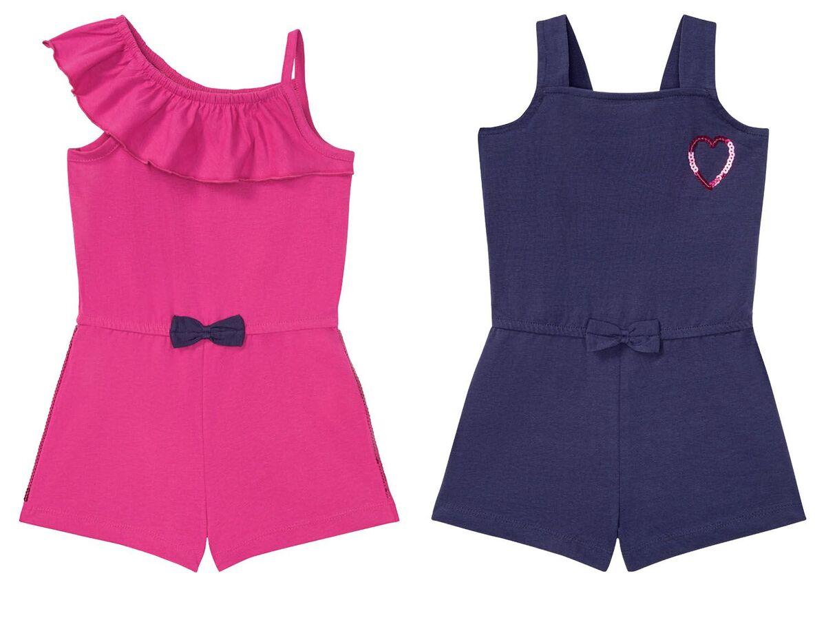 Bild 1 von LUPILU® Kleinkinder Jumpsuit Mädchen, mit Pailletten