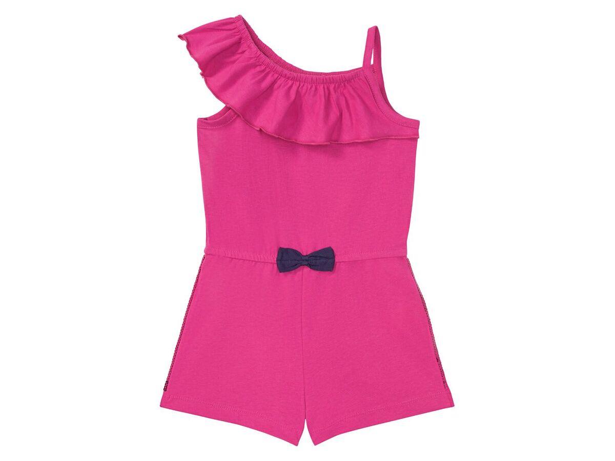 Bild 2 von LUPILU® Kleinkinder Jumpsuit Mädchen, mit Pailletten