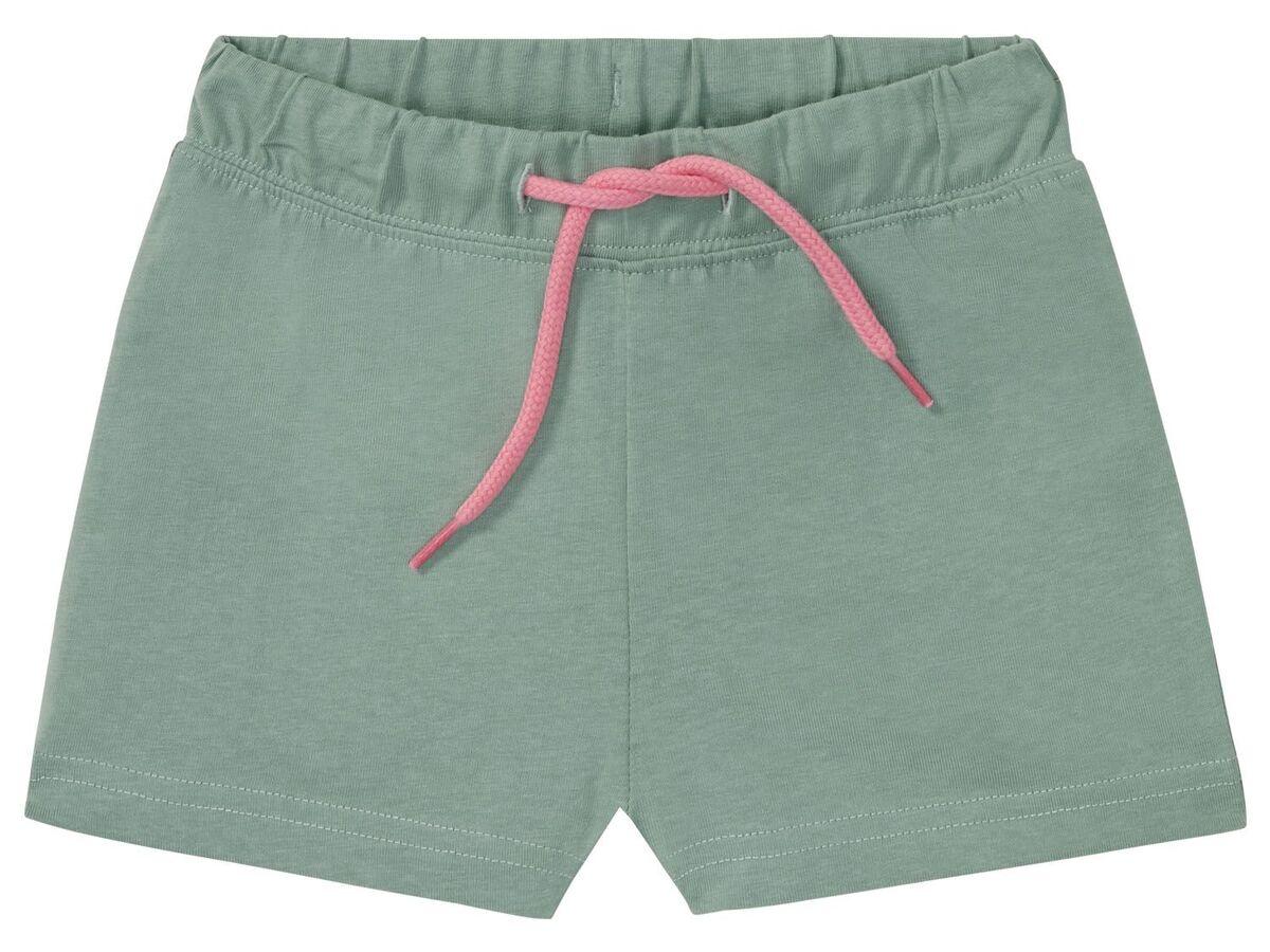 Bild 5 von LUPILU® Kleinkinder Sweatshorts Mädchen, 2 Stück